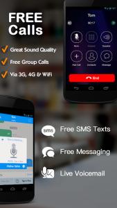 Dingtone - WiFi Calling & Text - Screenshot - 1